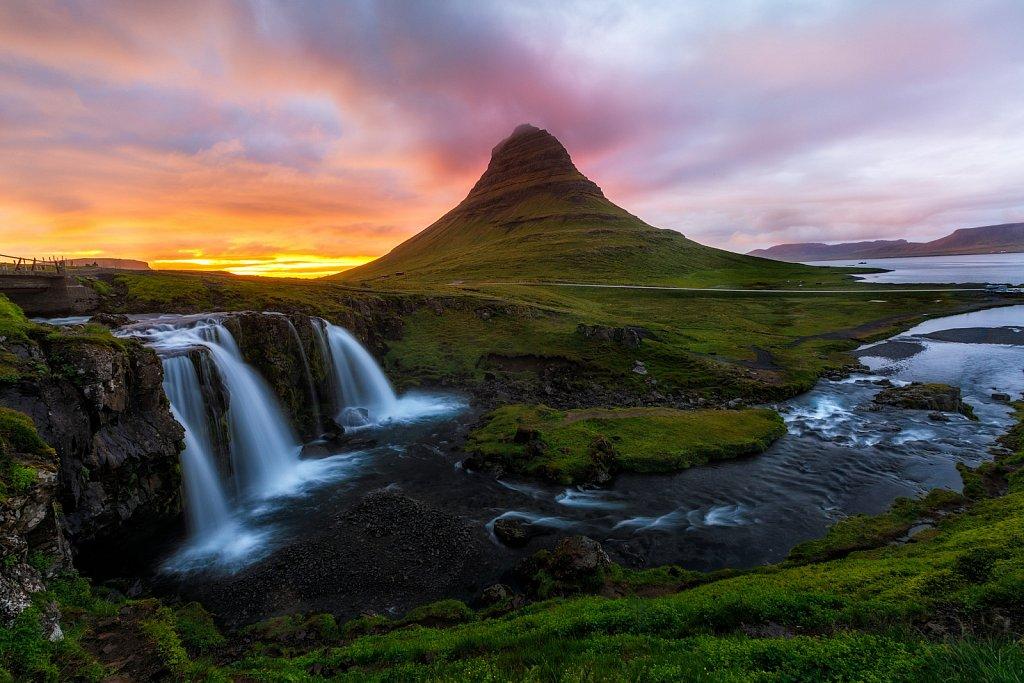 Mt Kirkjufell, Iceland
