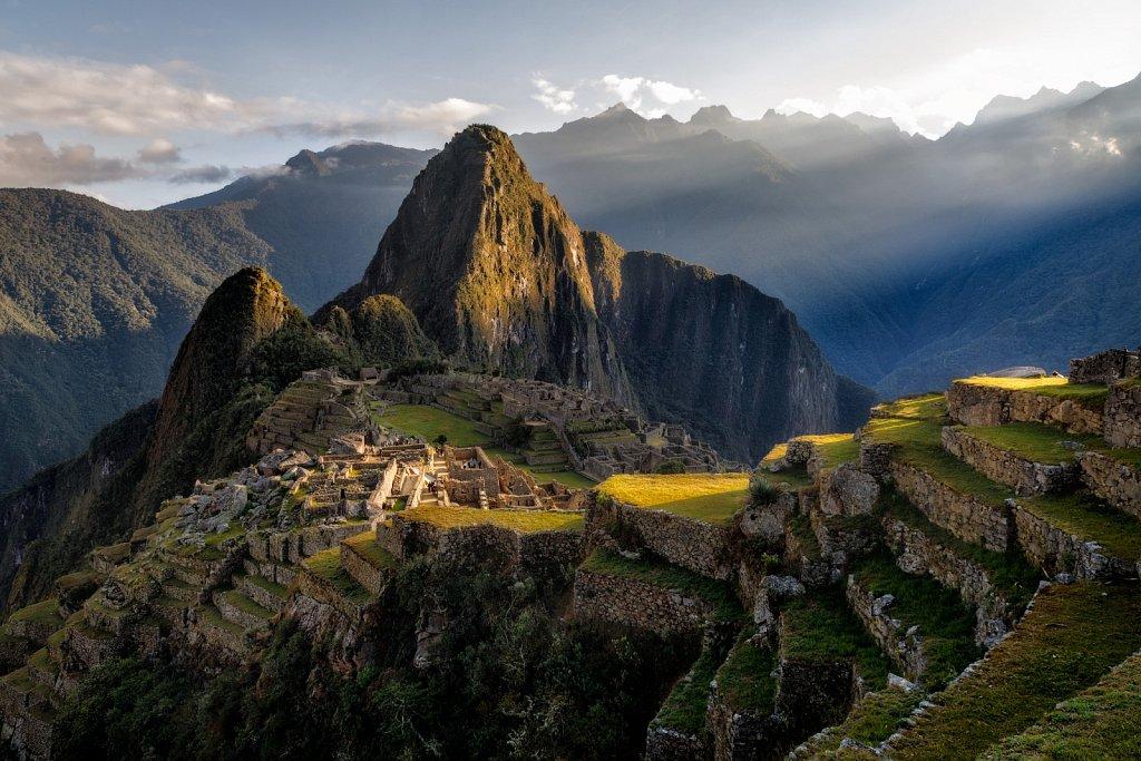 Sunrise over Machu Picchu, Peru